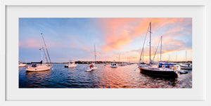 Cuttyhunk Panoramic  //  Nautical Photography