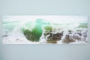 "Cate Brown Photo West Cape Wave // Photo on Canvas 16x48"" // Limited Edition 1 of 100 Available Inventory Ocean Fine Art"