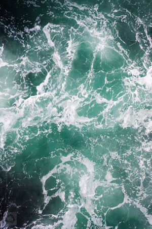 Cate Brown Photo Dark Waters #1  //  Aerial Photography Made to Order Ocean Fine Art