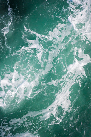 Cate Brown Photo Dark Waters #2  //  Aerial Photography Made to Order Ocean Fine Art