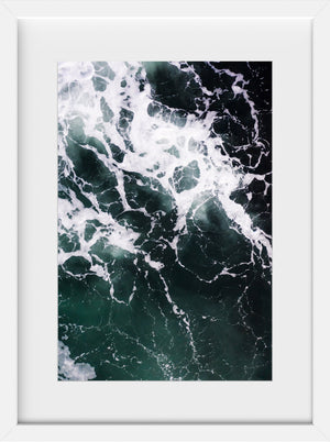 Cate Brown Photo Dark Waters #3  //  Aerial Photography Made to Order Ocean Fine Art
