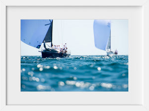 Downwind Waters  //  Nautical Photography