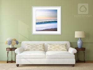 Cate Brown Photo East Beach #2  //  Abstract Photography Made to Order Ocean Fine Art