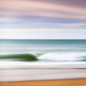 Cate Brown Photo East Beach #3  //  Abstract Photography Made to Order Ocean Fine Art