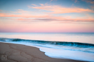 Cate Brown Photo East Beach at Dusk  //  Seascape Photography Made to Order Ocean Fine Art