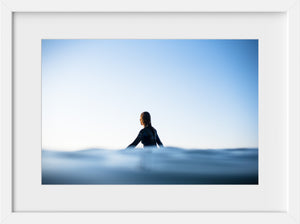 Cate Brown Photo Elise Waiting  //  Surf Photography Made to Order Ocean Fine Art
