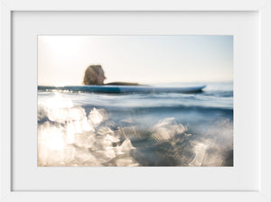 Elise in Abstract #1  //  Surf Photography