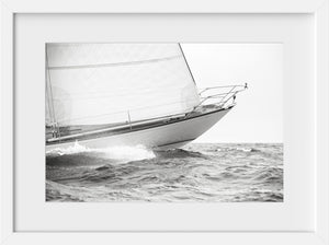 Equus Bow in Silver  //  Nautical Photography