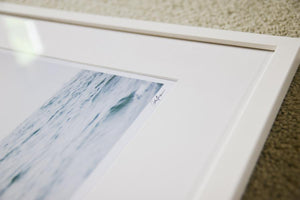 "Cate Brown Photo Sailing Open Seas // Framed Fine Art 19x25"" // Open Edition Available Inventory Ocean Fine Art"