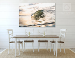 Cate Brown Photo East Beach Gold  //  Ocean Photography Made to Order Ocean Fine Art