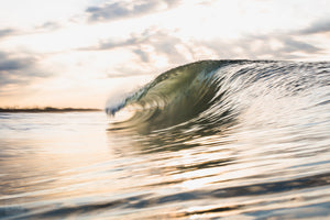 East Beach Gold  //  Ocean Photography