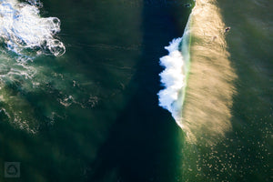 Golden Waves  //  Aerial Photography