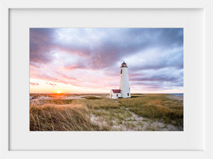 Great Point Light at Sunset #6  //  Landscape Photography