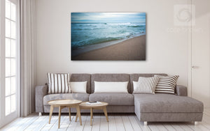 Cate Brown Photo Green Hill in Focus  //  Seascape Photography Made to Order Ocean Fine Art