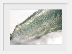 Cate Brown Photo Green Crystal  //  Ocean Photography Made to Order Ocean Fine Art
