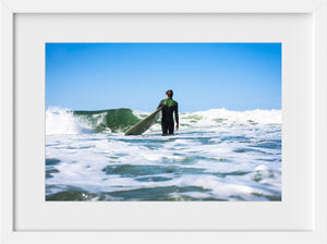 Cate Brown Photo Gus in Summer  //  Surf Photography Made to Order Ocean Fine Art