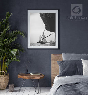 Cate Brown Photo Hanuman in Silver  //  Nautical Photography Made to Order Ocean Fine Art