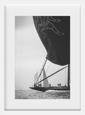 Hanuman in Silver  //  Nautical Photography