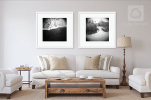 Cate Brown Photo Foam Edge  //  Film Photography Made to Order Ocean Fine Art