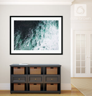 Cate Brown Photo Irish Aerial #2  //  Aerial Photography Made to Order Ocean Fine Art