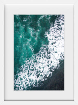 Cate Brown Photo Irish #1  //  Aerial Photography Made to Order Ocean Fine Art
