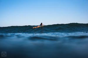 Cate Brown Photo Kaeli Surfing Chris #1  //  Surf Photography Made to Order Ocean Fine Art