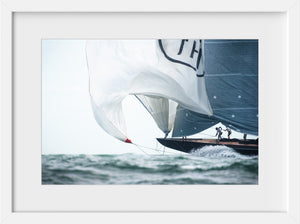 Cate Brown Photo Lionheart Spinnaker  //  Nautical Photography Made to Order Ocean Fine Art