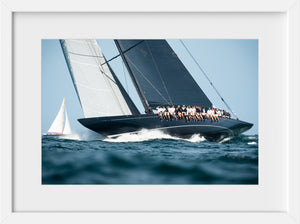 Lionheart Upwind  //  Nautical Photography