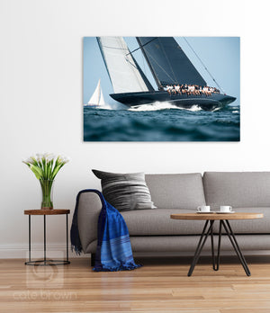 Cate Brown Photo Lionheart Upwind  //  Nautical Photography Made to Order Ocean Fine Art