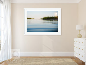 Cate Brown Photo Wickford Cove at Sunset  //  Ocean Photography Made to Order Ocean Fine Art