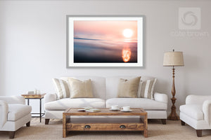 Cate Brown Photo Liquid Sunshine  //  Ocean Photography Made to Order Ocean Fine Art