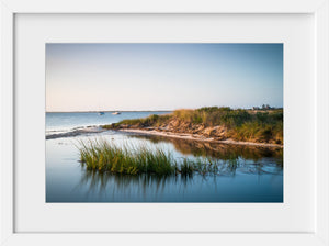 Cate Brown Photo Madaket Marsh Grass #3  //  Seascape Photography Made to Order Ocean Fine Art