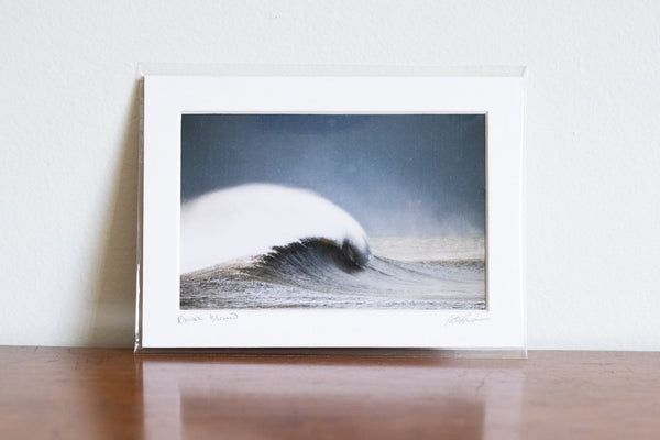 "Cate Brown Photo Winter Magic // Matted Mini Print 5x7"" Available Inventory Ocean Fine Art"