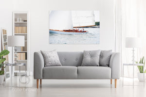 Cate Brown Photo Amorita Sailing #2  //  Nautical Photography Made to Order Ocean Fine Art