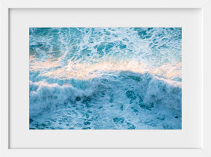 Cate Brown Photo Moher Whitewash at Sunset  //  Aerial Photography Made to Order Ocean Fine Art