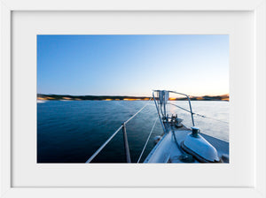 Moored at Dusk  //  Nautical Photography