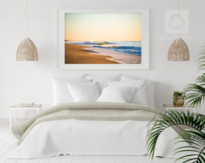 Cate Brown Photo Morning Shorebreak  //  Seascape Photography Made to Order Ocean Fine Art
