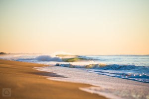Morning Shorebreak  //  Seascape Photography