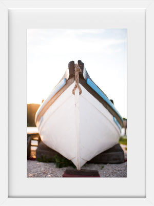 Cate Brown Photo Mystic Whaling Bow  //  Nautical Photography Made to Order Ocean Fine Art