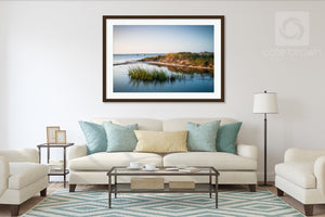 Madaket Marsh Grass #3  //  Seascape Photography