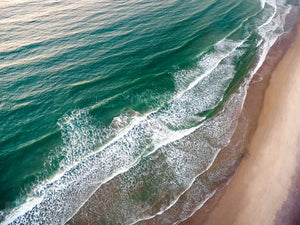 Cate Brown Photo Narragansett #3  //  Aerial Photography Made to Order Ocean Fine Art
