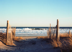 Cate Brown Photo Narragansett #2  //  Film Photography Made to Order Ocean Fine Art
