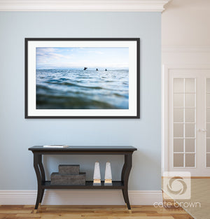 Cate Brown Photo Nova Scotia Lineup  //  Surf Photography Made to Order Ocean Fine Art