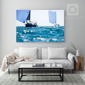 Cate Brown Photo Downwind Waters  //  Nautical Photography Made to Order Ocean Fine Art