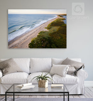 Cate Brown Photo Ocean View from Moonstone #3  //  Aerial Photography Made to Order Ocean Fine Art