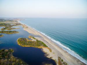 Ocean View from Moonstone #1  //  Aerial Photography
