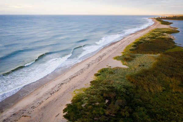 Ocean View from Moonstone #3  //  Aerial Photography