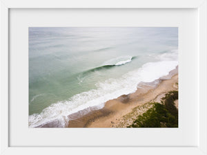 Cate Brown Photo Ocean View from Moonstone #4  //  Aerial Photography Made to Order Ocean Fine Art
