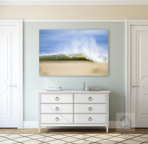 Cate Brown Photo Over the Dunes  //  Ocean Photography Made to Order Ocean Fine Art