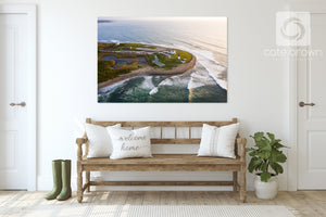 Cate Brown Photo Point Judith #6  //  Aerial Photography Made to Order Ocean Fine Art